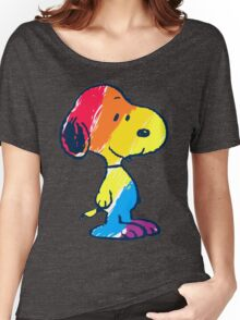 Snoopy Colorful Women's Relaxed Fit T-Shirt