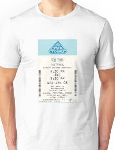 Star Tours Fastpass Unisex T-Shirt