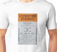 Expedition Everest Fastpass Unisex T-Shirt