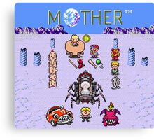 Earthboudn Mother Reference Smash Brothers Canvas Print