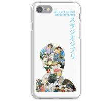Studio Ghibli Hayao Miyazaki Collage iPhone Case/Skin