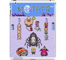 Earthboudn Mother Reference Smash Brothers iPad Case/Skin