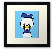 Mr Duck Framed Print