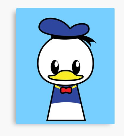 Mr Duck Canvas Print