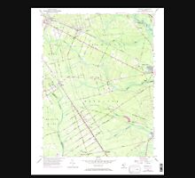 USGS TOPO Map New Jersey NJ Dorothy 254319 1956 24000 Unisex T-Shirt