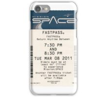 Mission Space Fastpass iPhone Case/Skin