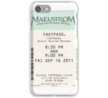 Maelstrom Fastpass iPhone Case/Skin