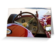 1950 Ferrari 212 F1 Interior Greeting Card