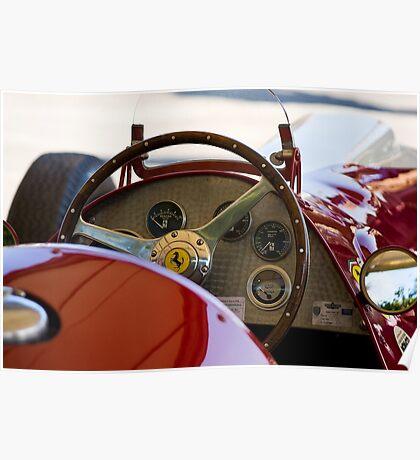 1950 Ferrari 212 F1 Interior Poster