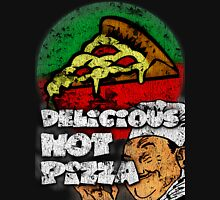 Delicious Hot Pizza  Womens Fitted T-Shirt