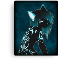 Apathy at its Sharpest Canvas Print