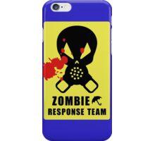 Zombie Response team iPhone Case/Skin