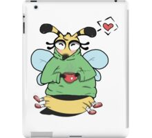 Bee Positive (full body) iPad Case/Skin