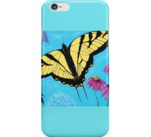Yellow Swallowtail iPhone Case/Skin
