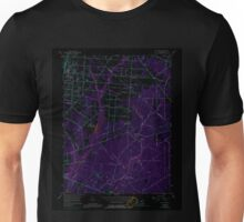 USGS TOPO Map New Jersey NJ Five Points 254372 1956 24000 Inverted Unisex T-Shirt
