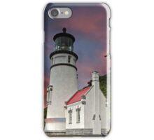 Sunset, Heceta Head Lighthouse, Oregon iPhone Case/Skin