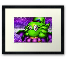Arrow in Purple Framed Print