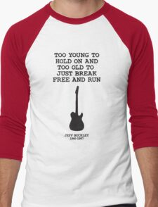Too young to hold on Men's Baseball ¾ T-Shirt