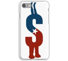 an american monogram iPhone Case/Skin