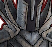 Silver Knight Sticker