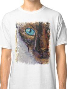 Siamese Cat Painting Classic T-Shirt