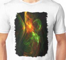 Alien Code 3 Orange-Red Green Unisex T-Shirt