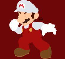 Mario (Fire) - Super Smash Bros. Sticker