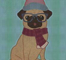 Snug Pug by OliverDemers