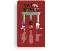 GAME START Canvas Print