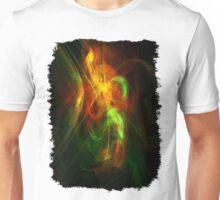 Alien Code 2 Orange-Red Green Unisex T-Shirt