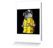 Breaking Bad Lego Greeting Card