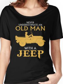 OLD MAN WITH A JEEP Women's Relaxed Fit T-Shirt