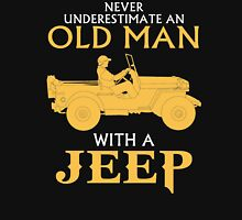 OLD MAN WITH A JEEP Unisex T-Shirt