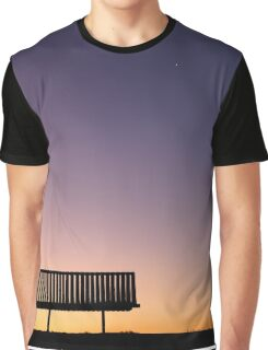 Peaceful Evening Graphic T-Shirt
