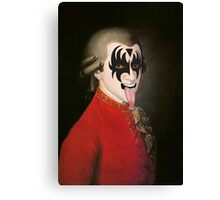 Mozart's Kiss Canvas Print
