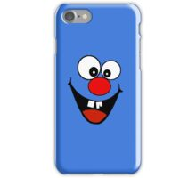Cracked Tooth - Big Red Nose Cartoon Head Decal Kids Bag Tee iPhone Case/Skin