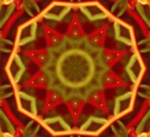 Autumn Mandala Sticker