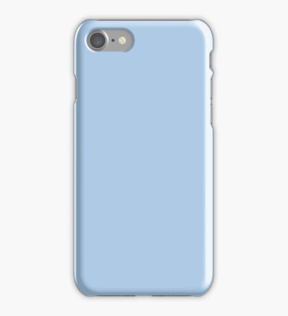 Baby Blue Solid Color Decor iPhone Case/Skin