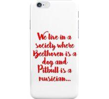Society... iPhone Case/Skin