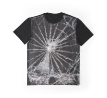 cracked screen Graphic T-Shirt