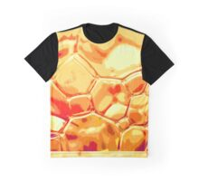 orange scale bubbles Graphic T-Shirt