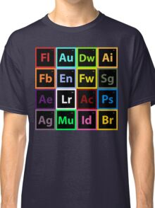 Periodic Table of Design Classic T-Shirt