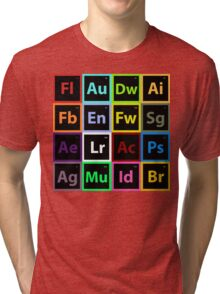 Periodic Table of Design Tri-blend T-Shirt