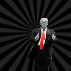Donald Trump For President 2016 Thumbs Up by Garaga