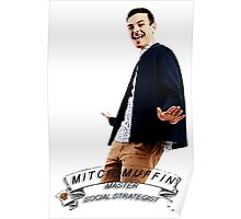 """Big Brother Canada 4 - Mitch """"Muffin"""" Moffit  - Master Social Strategist Poster"""