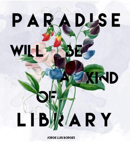 Library Sticker