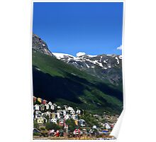 Odda, Norway  Poster