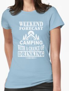 Weekend Forecast Womens Fitted T-Shirt