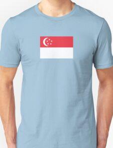 I Love Singapore - Country Code SG - T-Shirt & Sticker T-Shirt
