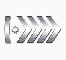 Silver Elite Master CSGO Rank Emblem One Piece - Short Sleeve